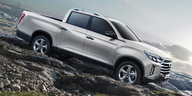 New SsangYong Musso from £17,795 <span>ex VAT</span>